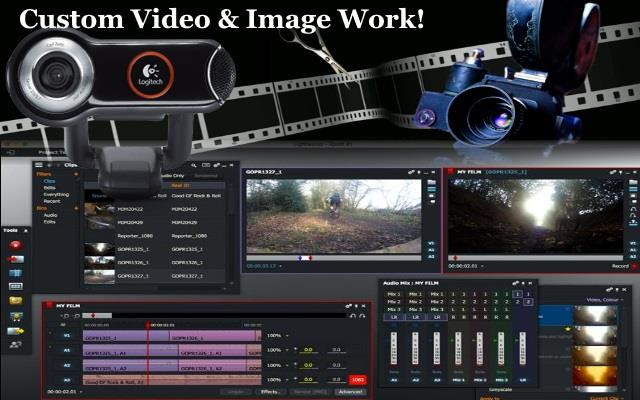 Video, Image & Audio Work!