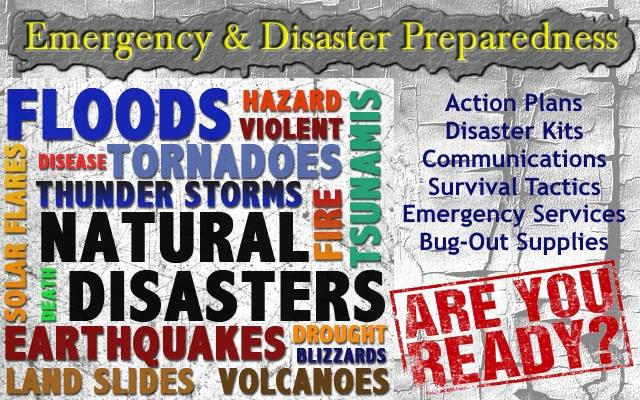 Disaster Planning Help with OMG!